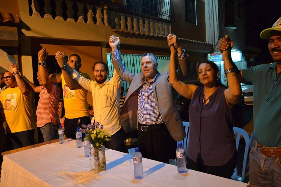 SDE: Manuel jiménez juramenta movimiento en Los mina