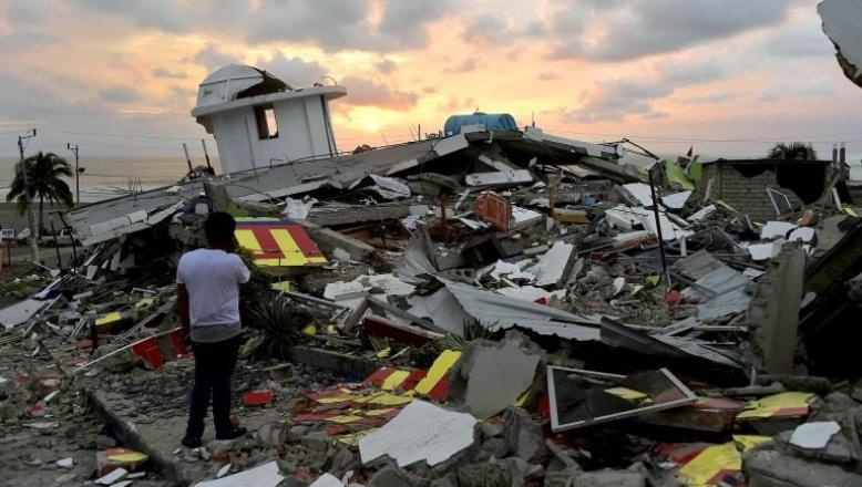 Nuevo terremoto de 6,1 grados sacude este miércoles costa norte de Ecuador