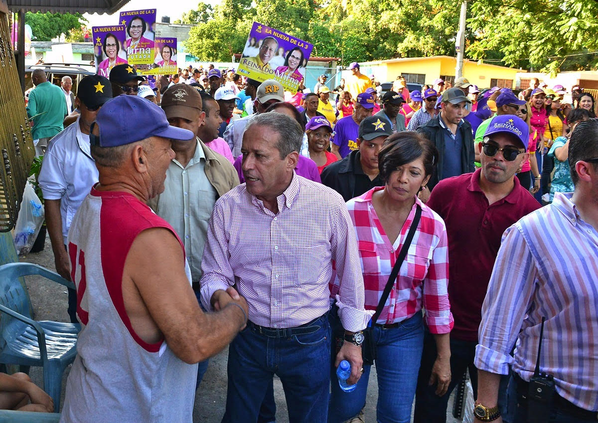 Reinaldo Pared Pérez ve sensatez medios al no pasar material del PRM