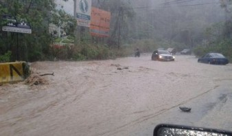 Fuertes lluvias causan estragos en Puerto Rico