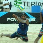 Pareja dominicana domina Torneo Voleibol de Playa