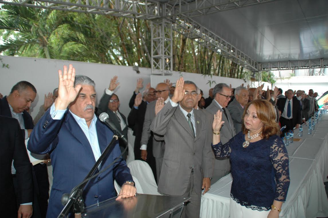 Generales retirados apoyan PRD y reelección del Presidente Medina