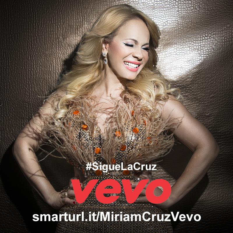Vevo lanza canal Miriam Cruz