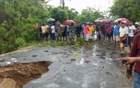 Lluvias provocan inundaciones y derrumbes en región Sur de la RD