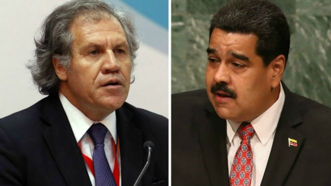 Secretario OEA  activa carta podría llevar a la suspensión de Maduro