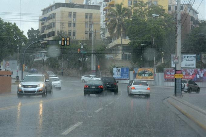 Vaguada provocará aguaceros sobre RD