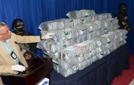 Ocupan 85 kilos cocaína y heroína en Punta Cana, Caucedo y Haina