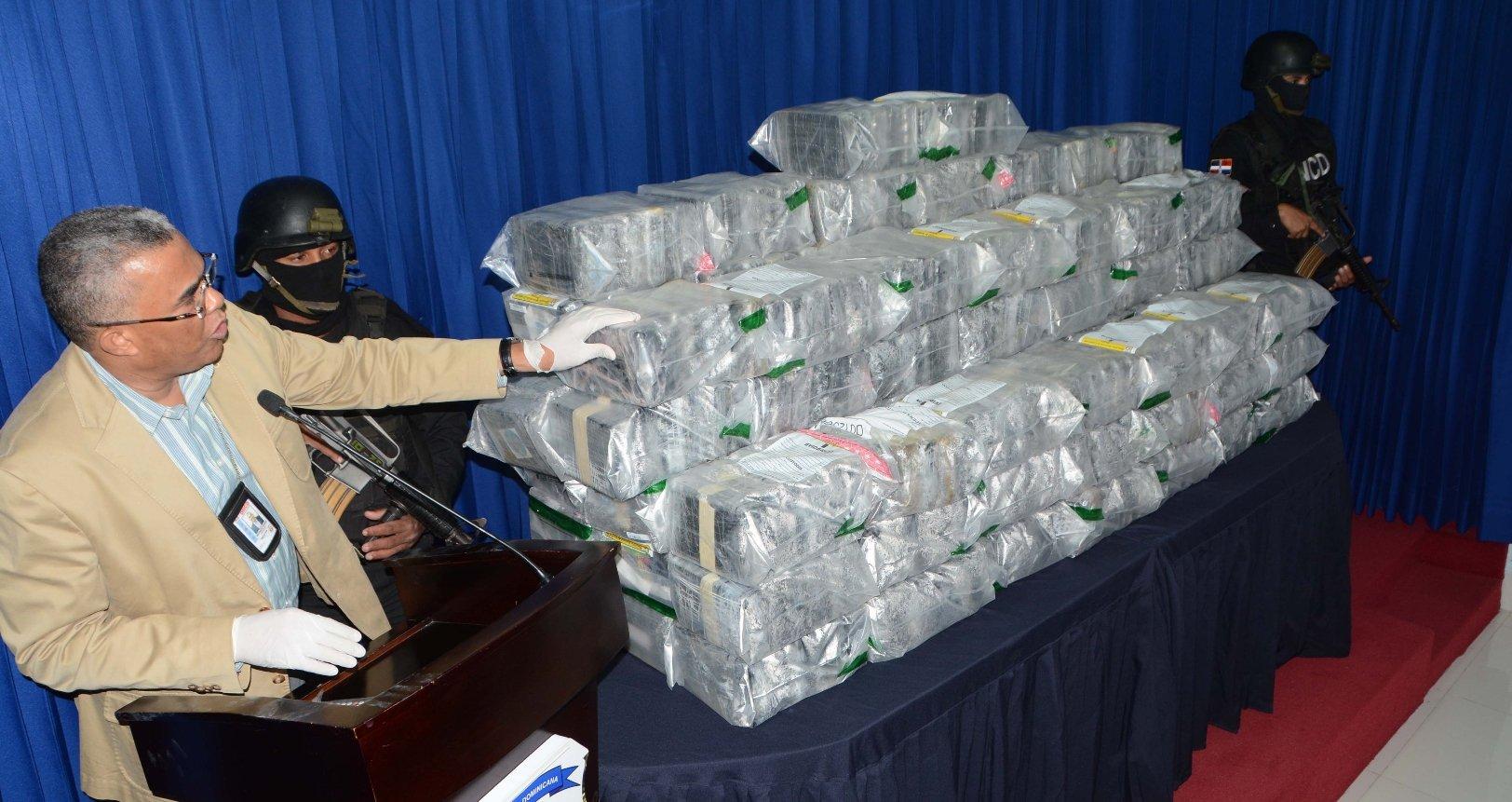 DNCD ocupa 85 kilos cocaína y heroína en Punta Cana, Caucedo y Haina