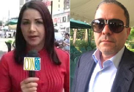 Periodista acusa públicamente alempresario Felix Cabrera; éste desmiente y la contra acusa