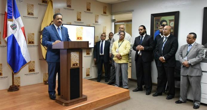 JCE aprueba conteo manual 100% de los votos a nivel presidencial