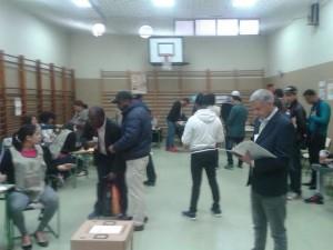 Votantes en Madrid 2