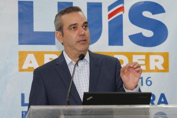 Abinader: No es momento de competir por candidatura presidencial del PRM