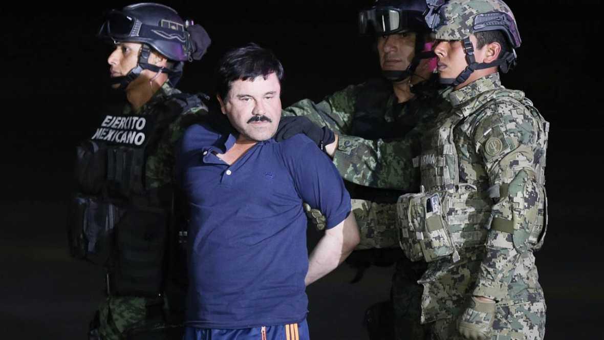 """México aprueba extradición """"El Chapo"""" Guzmán a EE.UU."""