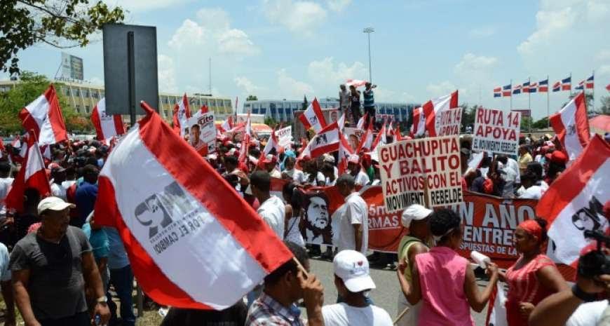 Demandan a Hubieres por pago RD$300 para protestar frente a la  JCE