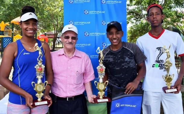 DN barre en el nacional de tenis AFP Popular