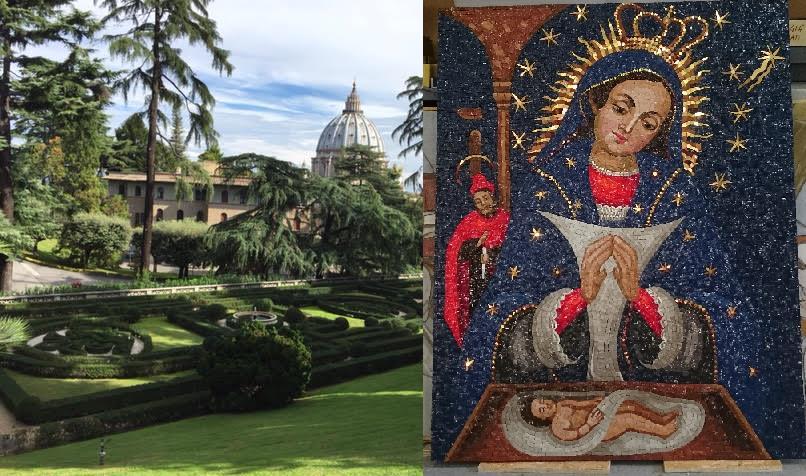 ROMA: Colocan imagen  Virgen de la Altagracia en el Vaticano
