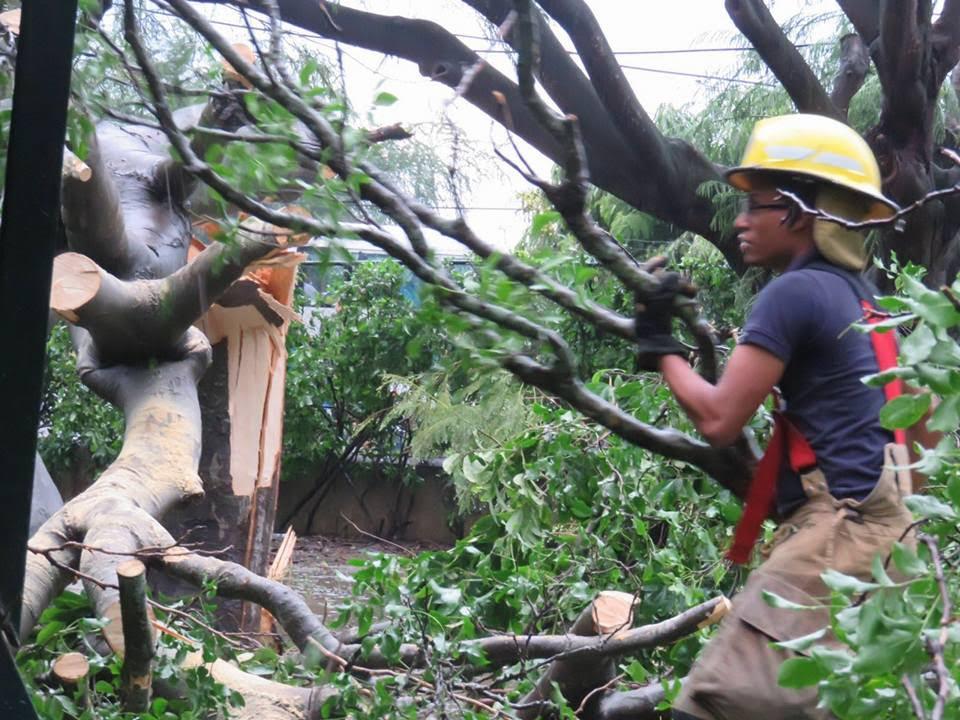 VILLA GONZALEZ: Lluvias provocan daños considerables