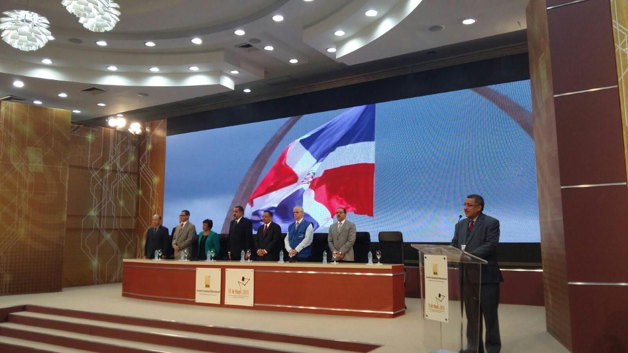 Pleno de la JCE da la formal bienvenida a los observadores internacionales