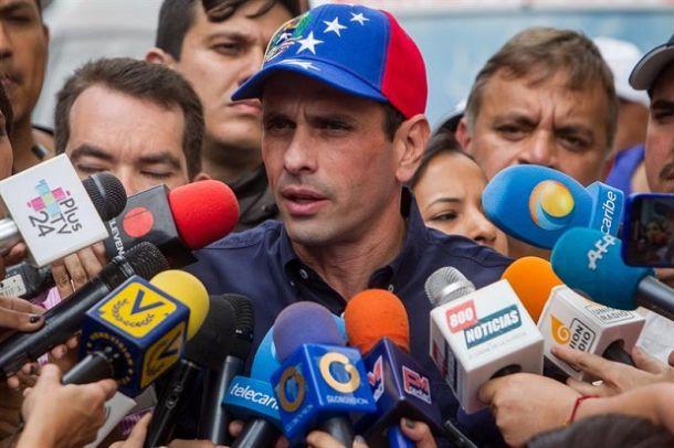 """Capriles pide Leonel y Torrijos """"no digan mentiras"""" en OEA sobre Venezuela"""