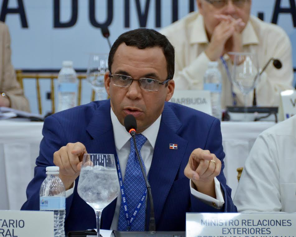 RD presenta ante OEA declaración desagravio por intervención 1965