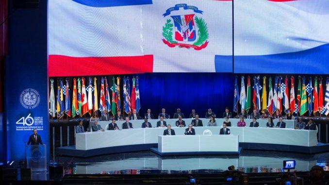 R. Dominicana aportó US$600 mil para Asamblea General de la OEA