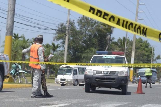 NAGUA: Dos muertos en accidente