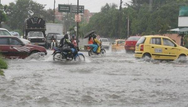 Onamet anuncia lluvias y alerta para siete provincias y el DN