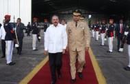 Danilo partió hacia Honduras