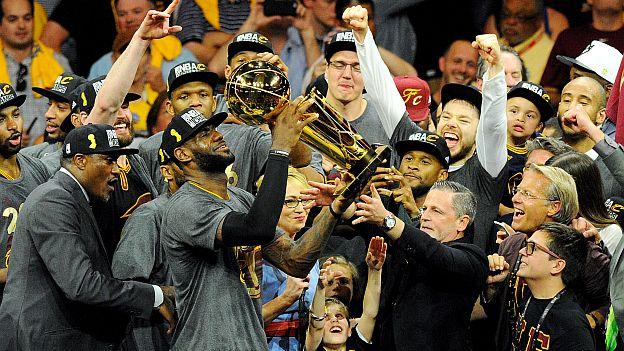 Cavs campeones de la NBA