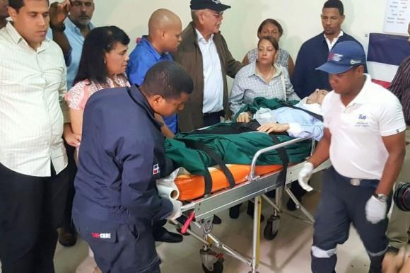 En estado delicado llevan a Manuel Jiménez al Centro Médico de la UCE