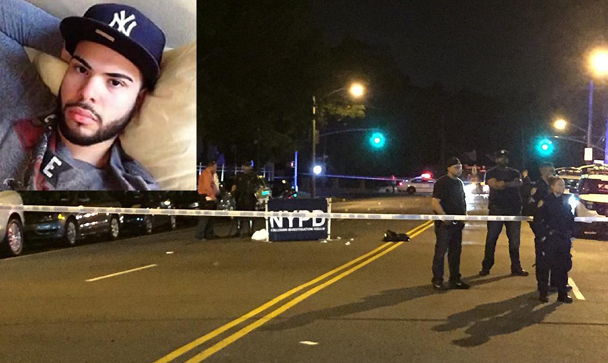 Criollo muere atropellado tras visitar a su novia en El Bronx