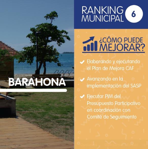 BARAHONA: Alcaldía maneja presupuesto con eficiencia
