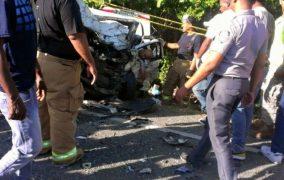 P. PLATA: Accidente salda con dos muertos y varios heridos