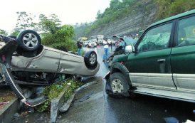 La semana pasada ocurrió un accidente cada 5 minutos en SD