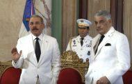 Presidente dominicano satisfecho por ayuda que la RD entregó a Haití