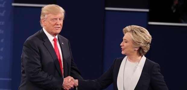 EU: Será hoy el tercer y último debate entre Clinton y Trump