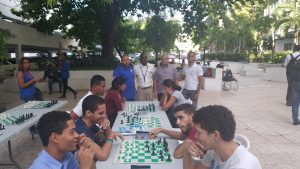 Universidad APEC inicia torneo de ajedrez