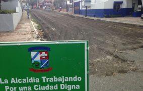 SAN CRISTOBAL: Alcaldía inicia programa asfaltado de calles