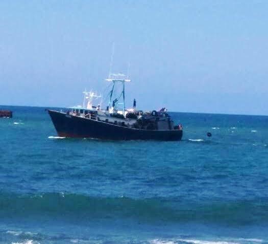 PTO PTA: Se hunde barco pesquero