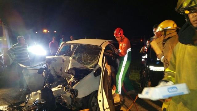 HIGUEY: Identifican víctimas triple choque en la autopista El Coral