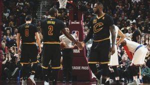 "LeBron logra ""triple doble"" y Cavs apabullan Knicks"