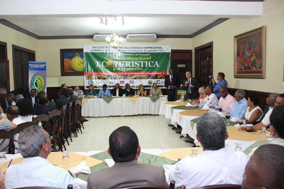 Empresarios de RD y Haití acuerdan fortalecer vínculos de colaboración