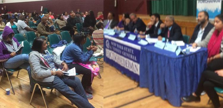 Realizan conferencia en El Bronx sobre derechos de inquilinos