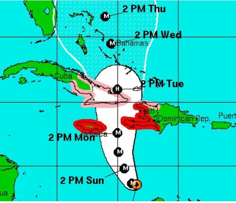 Matthew amenaza Cuba, Jamaica y Haití como huracán categoría 4