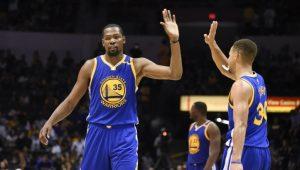 Warriors serán los favoritos del Oeste en la NBA