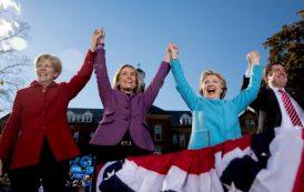 EEUU: Warren y Clinton unen fuerzas contra Donald Trump