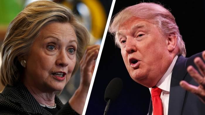 Últimas encuestas reflejanventaja 3 a 4 puntos de Clinton sobre Trump