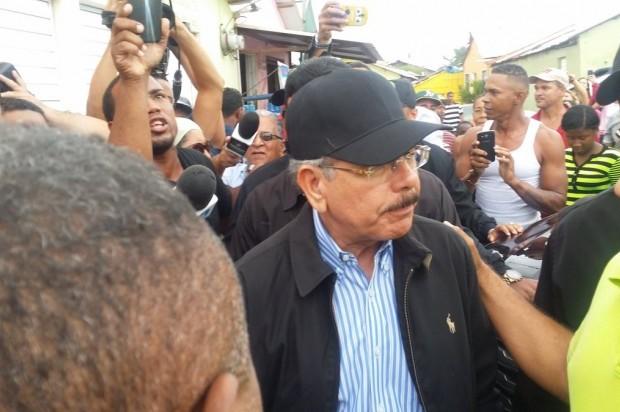 Danilo Medina visita Puerto Plata para constatar daños ocasionaron las lluvias