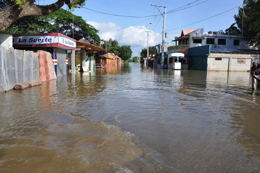 Inundaciones dañaron plantaciones en zonas Montecristi y Valverde