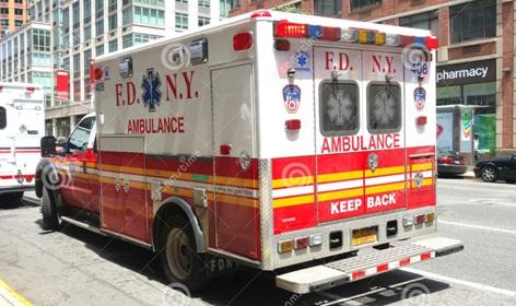 Detienen dominicano por robar ambulancia de los bomberos